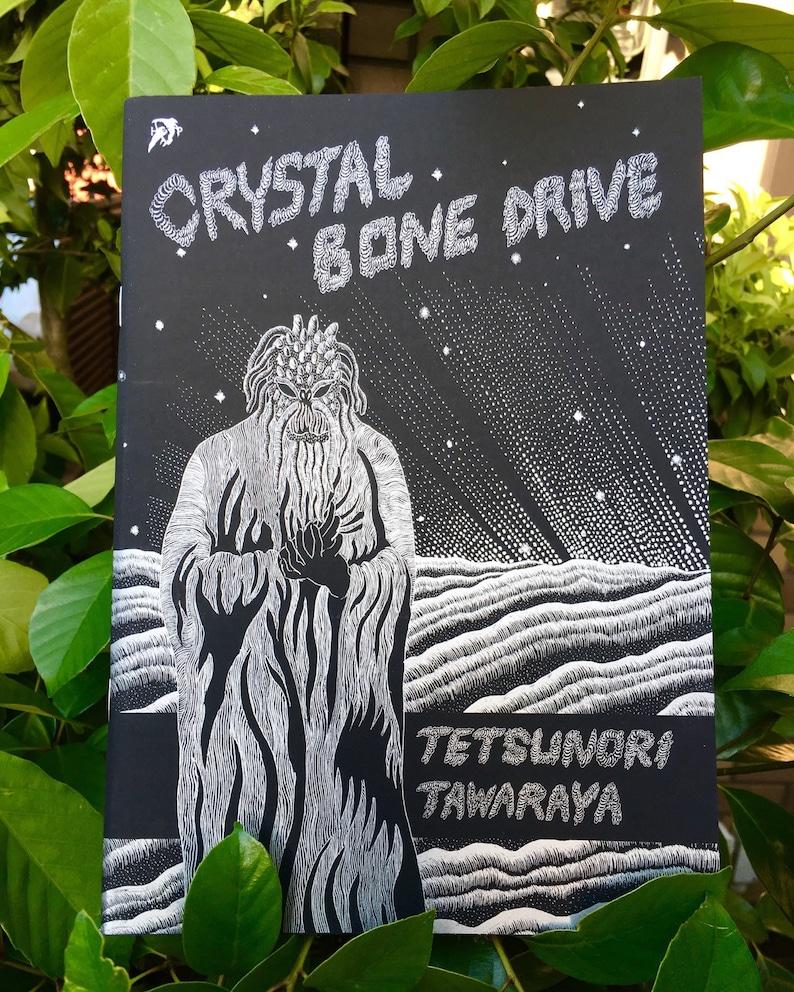 Crystal Bone Drive Comic book /Scratchboard Comic book /PLIKE image 0