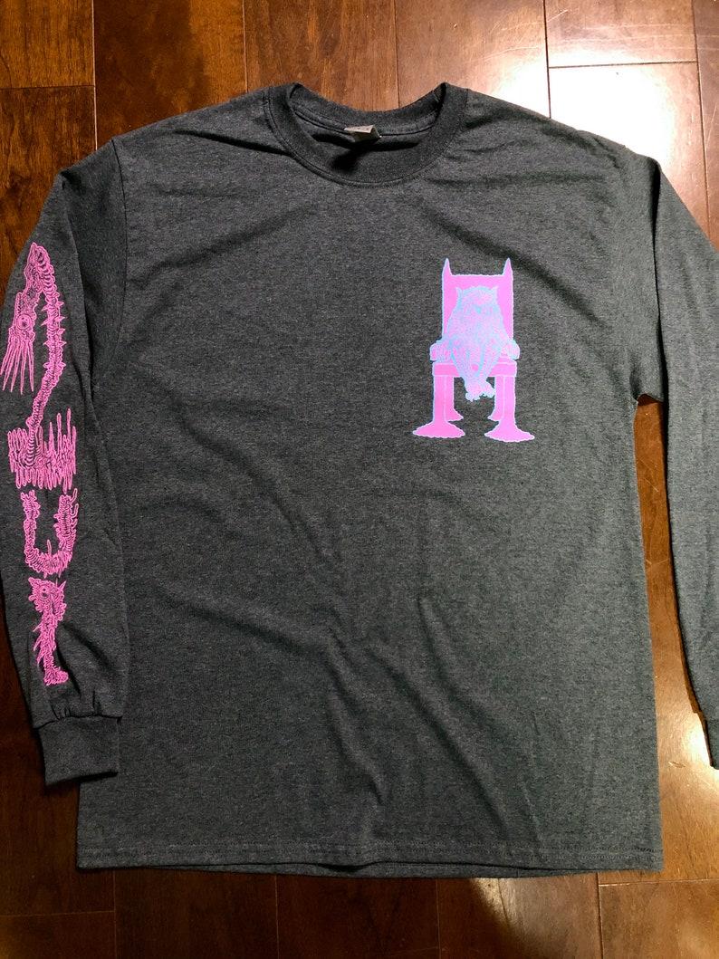 Prophet Cat Long sleeve t-shirt Gildan /Heather gray image 0