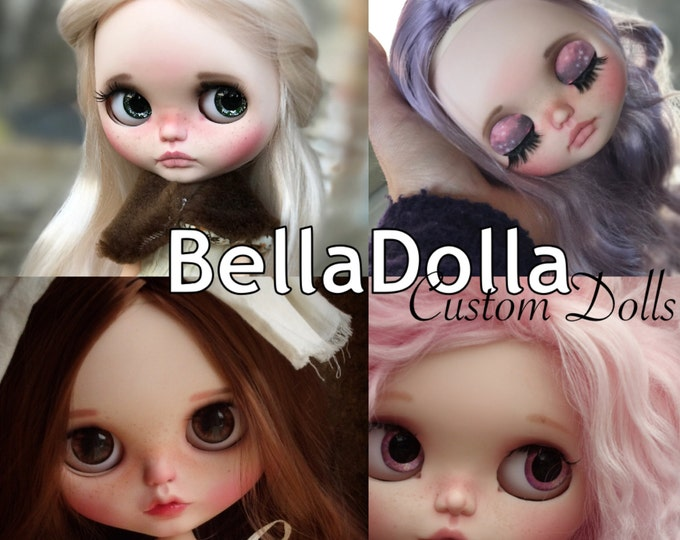 Custom Blythe order service - included doll