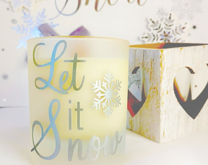Christmas candles, Christmas scented candles, handmade with ecosoya wax, wood wick candles , Christmas decorations, Festive christmas gifts