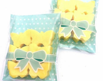 Butterfly wax melts, dupe style wax melts , hand poured with ecosoya wax, butterfly gift, pretty yellow wax melts uk, birthday gift for her