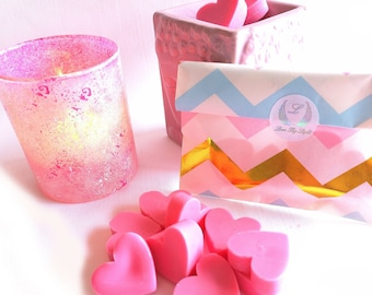 Sweet Pea wax melts uk, Birthday gift for her, hand poured with ecosoya wax, Great little gift for gardeners