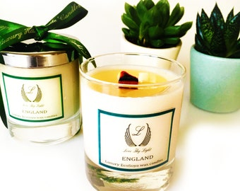 Citronella garden scented soy candle, Luxury handmade candle, decorative candle, garden decoration, BBq candle, Garden candle, garden decor