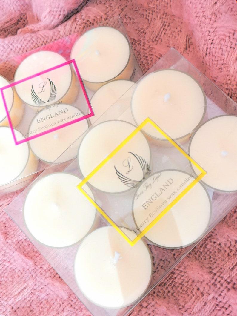 Lemonade Tea Lights Birthday Gift For Her Handmade With
