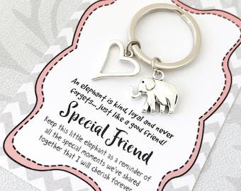 Elephant Friendship Gift - Special Friend keepsake present