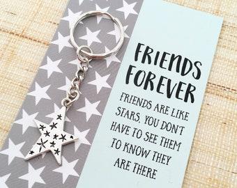 Special Friend University Friends Forever bird pin Lockdown gift