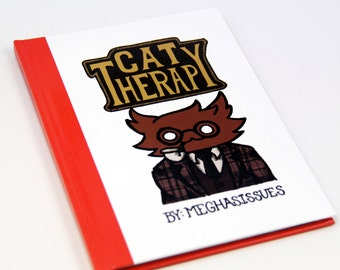 Cat Therapy Hardcover