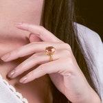 12 Carats Statement Morganite ring, engagement ring, oval radiant cut lab morganite, solitaire ring, pink gemstone ring, pink emerald ring