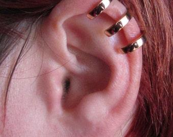 Sterling Silver Ear Cuff  - 3 Ring Ear Cuff - Triple Ear cuff - Ear Wrap - Adjustable Ear Cuff - Ear Climber - 3 Row Ear Cuff
