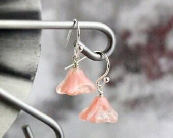 pink earrings 925 silver hook navy flower earrings green flower blue tassel black jewelry bohemian earrings daughter gift girlfriend пя52