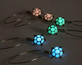 turtle earrings dangle earrings pink studs blue earrings turtle jewelry green sea earrings gifts sister everyday й2