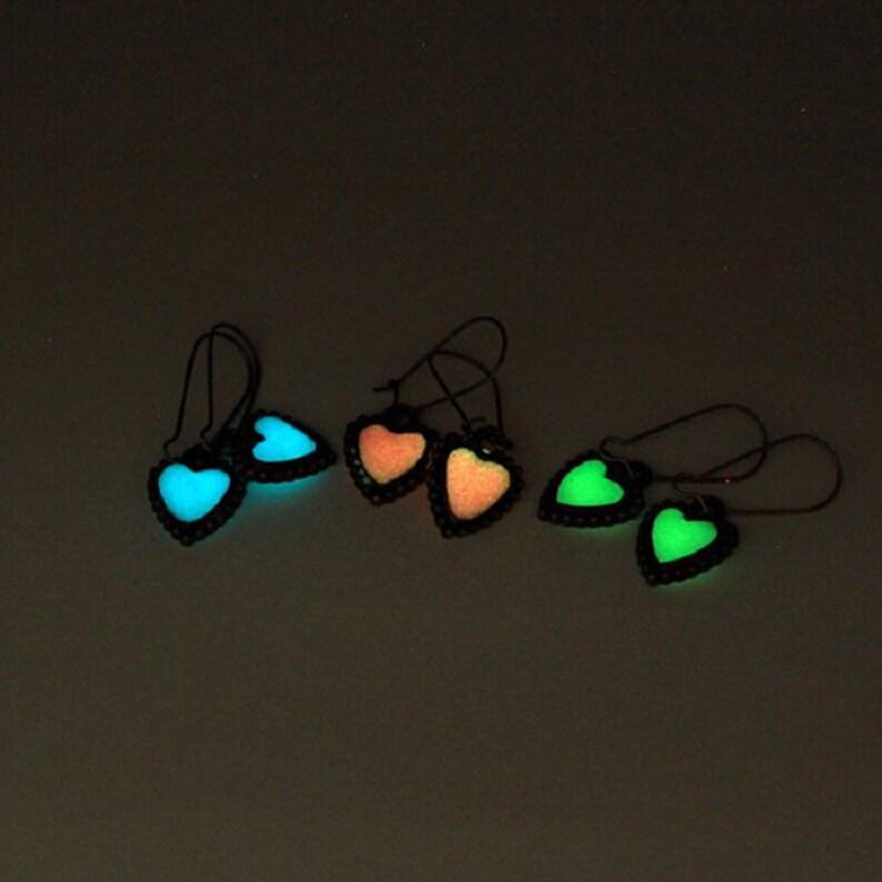 bronze heart green jewelry for kids mint love earrings love gift little sister white earrings dangle magic Christmas cute gifts under 20