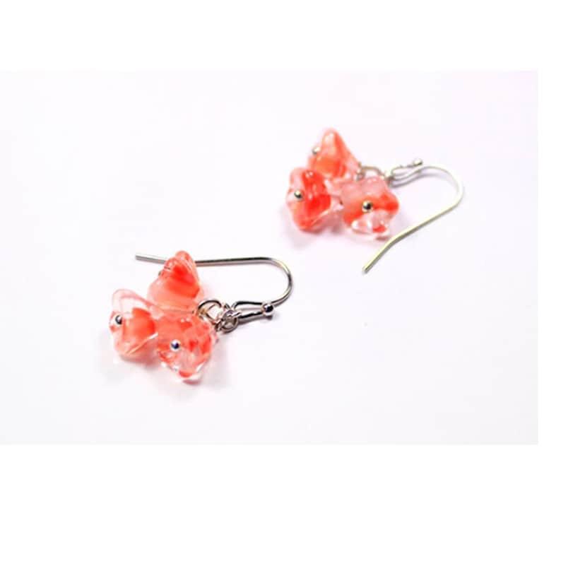 925 silver hook mini flowers rose earrings jewelry teacher image 0