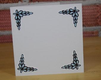 Corner Floral Stickers - Designed by MelBryanIllustration (501-01)