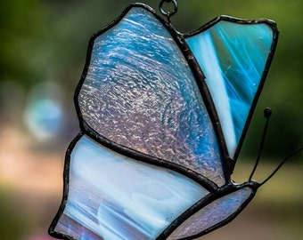 Stained Glass butterfly suncatcher