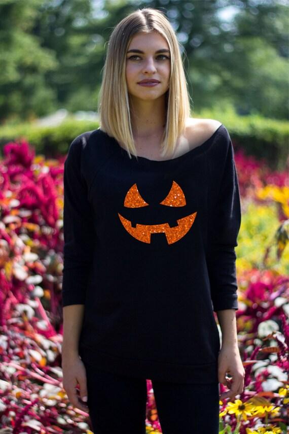 47edd9fe9cf76 Pumpkin shirt Halloween costume women Funny tshirts Graphic | Etsy