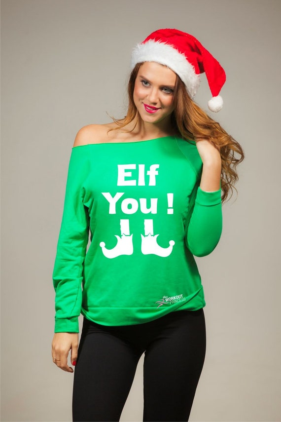 Ugly Christmas Sweaters Funny Holiday Sweater Elf You Etsy
