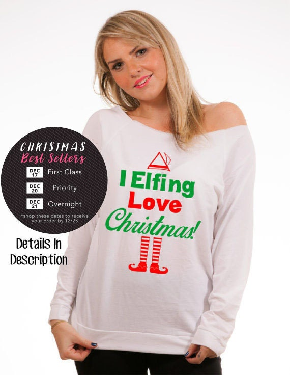 Holiday Shirt Buddy The Elf Ugly Christmas Sweaters Available Etsy