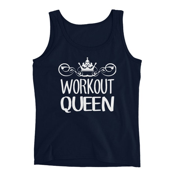 2dafcfbe445 Workout Tank Womens Burnout Workout Queen Funny Workout Tank