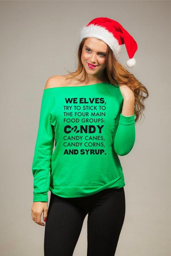 Christmas Sweater Shirt Funny Ugly Xmas Sweatshirt Ugly Etsy