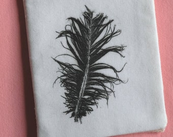 needle case - feather #1
