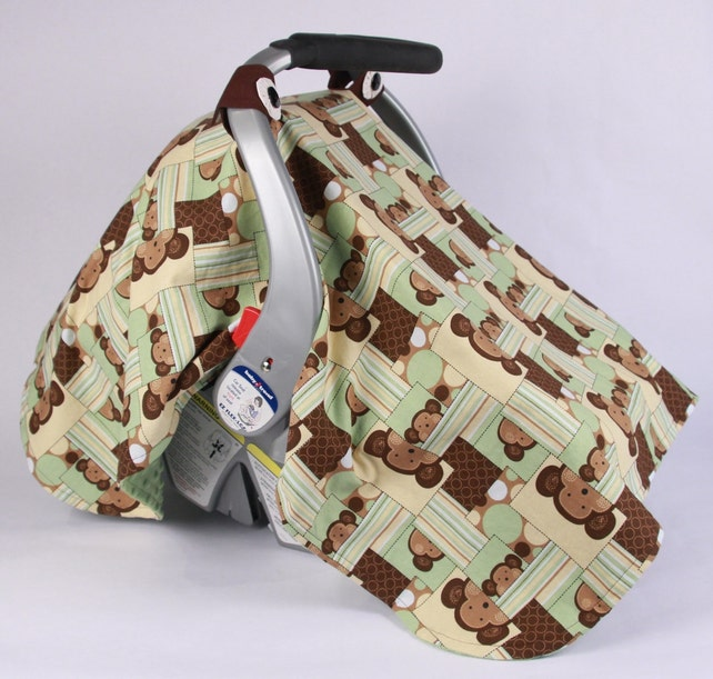 Baby Car Seat Canopy Monkey Car Seat Canopy Baby Girl Baby
