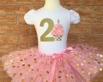 268311d74 Second birthday outfit for girls, 2nd birthday shirt, birthday outfit for 2  year old girl, turning two tutu, girl's second birthday