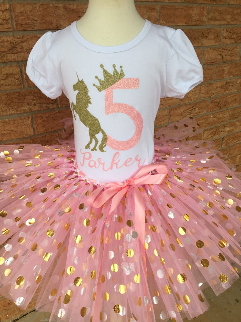 Fifth Birthday Shirt 5th Outfit Girls