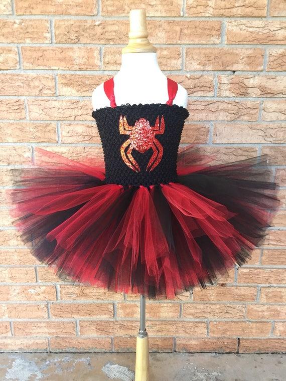 & Spider girl costume girls spider tutu girls spider costume