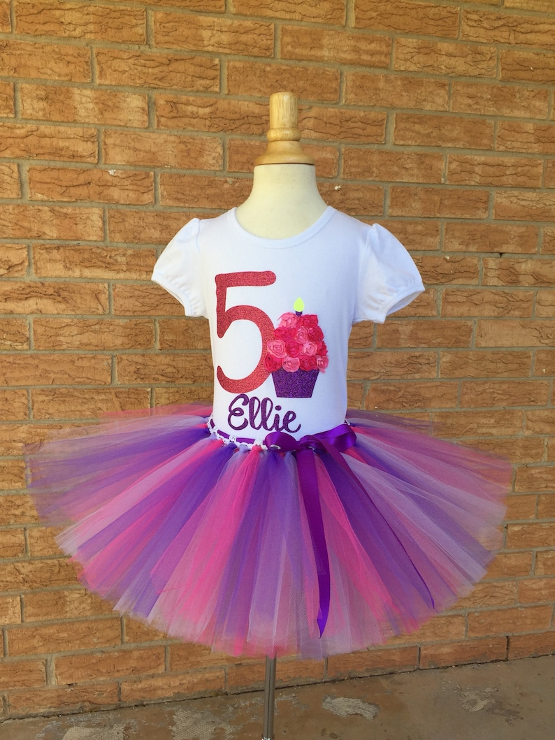 Girls Fifth Birthday Outfit 5th Shirt 5 Year