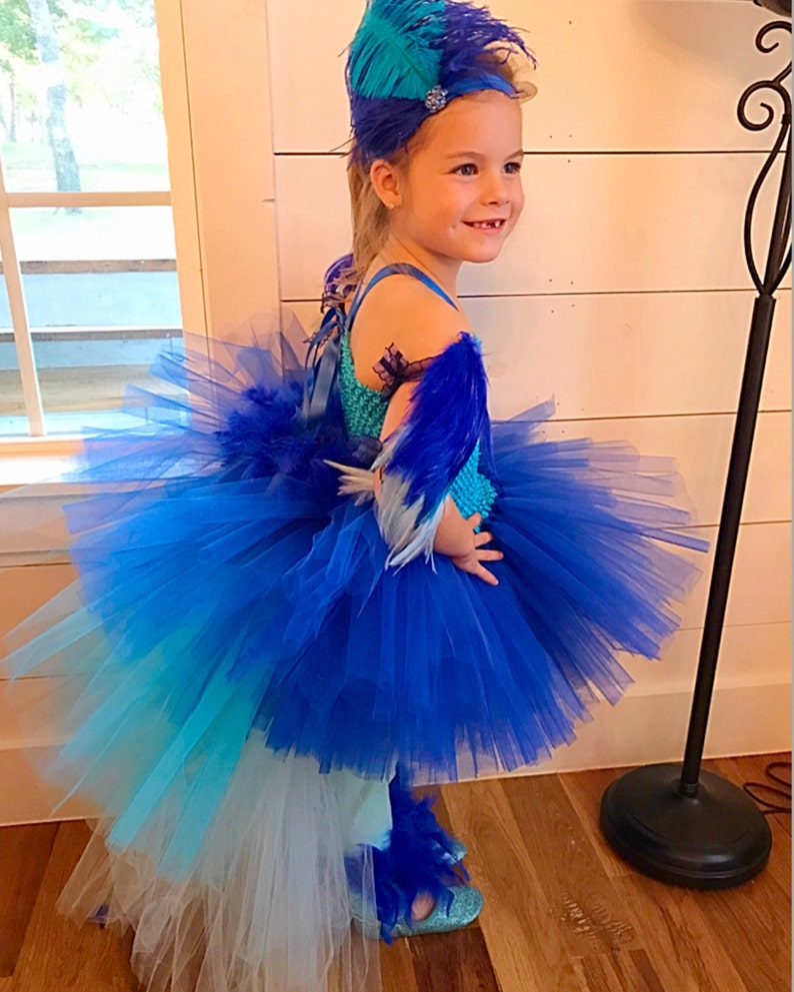 960ea56e58e045 Papegaai kostuum Ara kostuum parrot tutu halloween kostuum