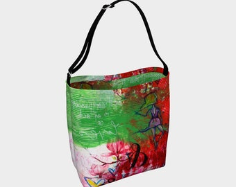 e92cb10b7b93 Art print tote bag