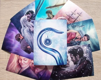 "Emma & Hook: Captain Swan 6x4.5"" photo prints"