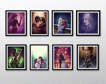 Once Upon A Time Art Prints - limited time, will not be restocked!