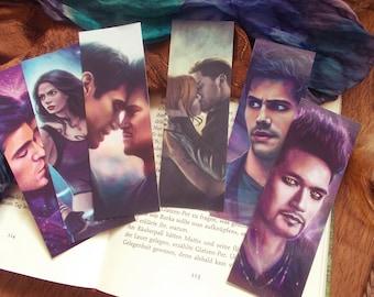Shadowhunters bookmarks (regular size)