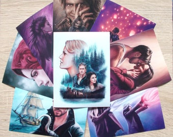 """Once Upon A Time 6x4.5"""" prints"""