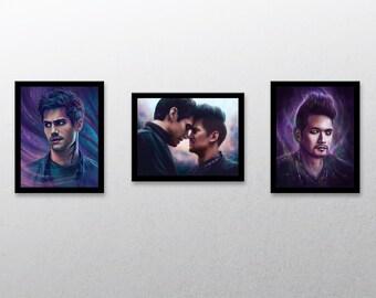 "Magnus & Alec 8x10"" prints - Shadowhunters photo prints"