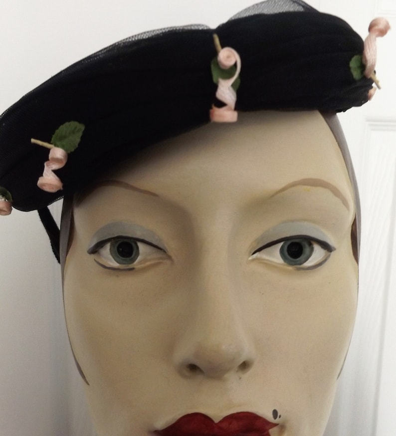 dfd1b406ca Half-Cap of the Past or Fascinator for Now? You Decide with this 1940s  Retro Hat
