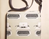 Fully lined typewriter me...