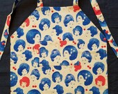 Toddler sized apron. Michelle Obama, Beautiful ladies, or bird silhouettes.