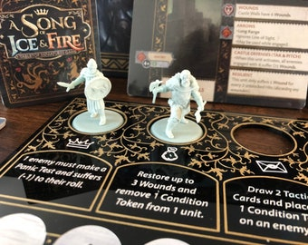 A Song of Ice and Fire Tactics Board! A Game of Thrones Miniature Board Game. AGOT Tactics Dashboard
