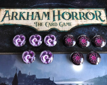 Arkham Horror Whims of Fate Third Edition tokens! Eldritch & Anomaly tokens!