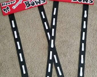 Custom Cheer Bow holder- Never Enough Bows