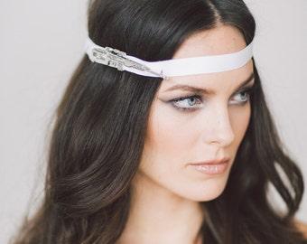 Fortuna Headpiece.  Wedding Headband, Bridal Headband, Wedding Accessories, Bridal Headpiece
