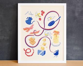 Breakfast Print