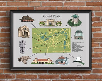 Forest Park Print