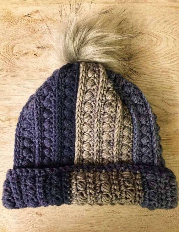 Malia Beanie Slouch Hat Faux Fur  2e144085e64