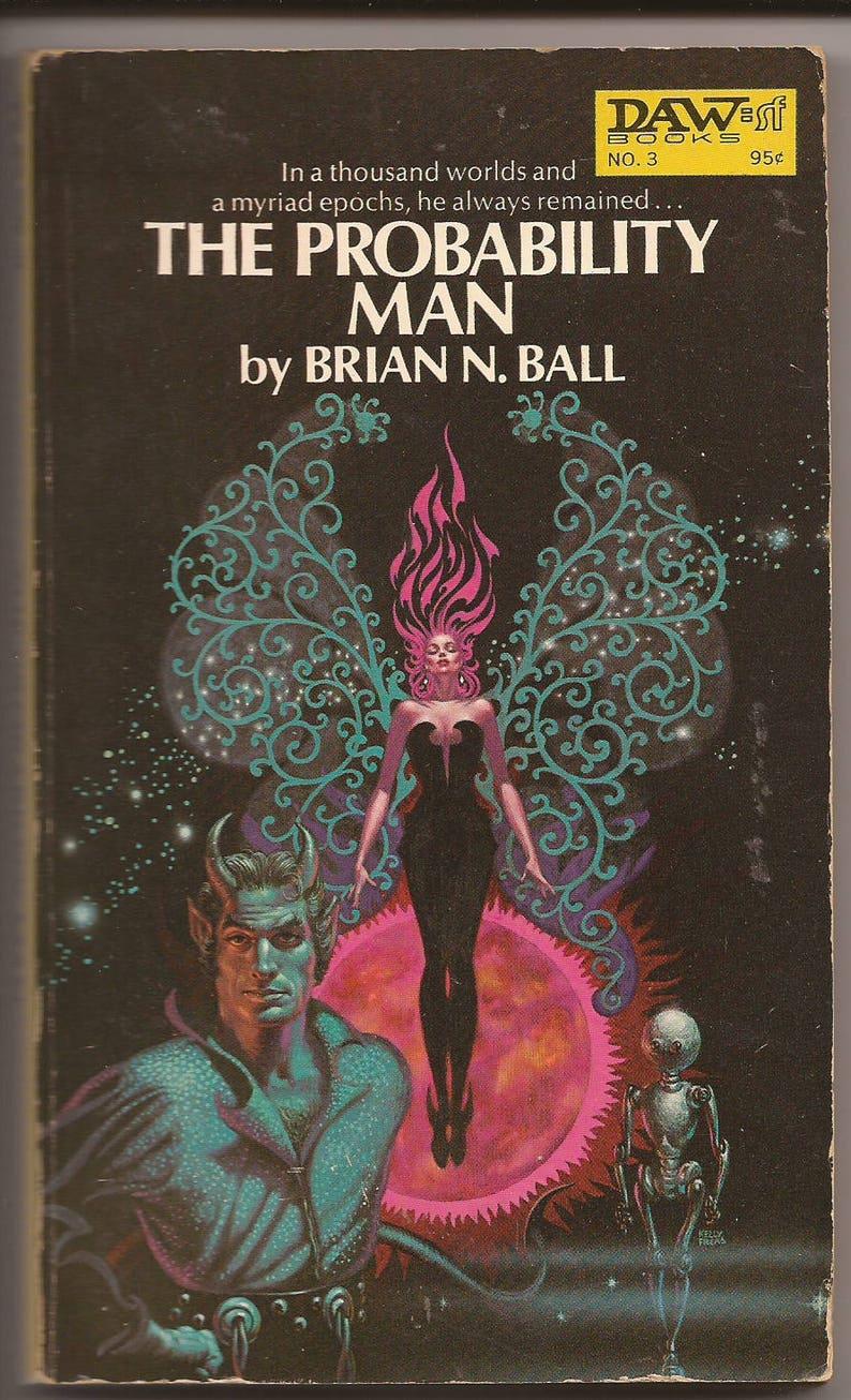 Daw Brian N. Ball: The Probability Man 1972 image 0
