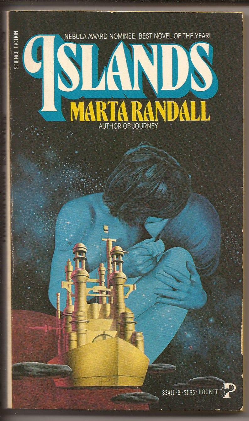 Pocket Books Marta Randall: Islands 1980 image 0