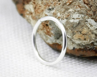Lip Ring, Piercing ring, Sterling Silver, 14k Rose or Yellow Gold Filled, Lip Piercing, Lip Hoop, Gold lip ring, Silver lip ring, Nose ring